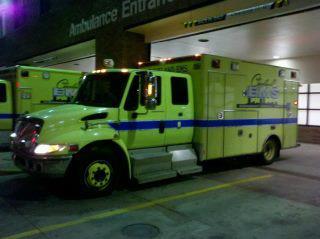 Cleveland EMS Ambulaance