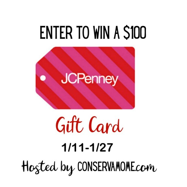 $100 JC Penny Gift Card Giveaway Ends on 1/27 Good Luck, I so want to win this but you can!