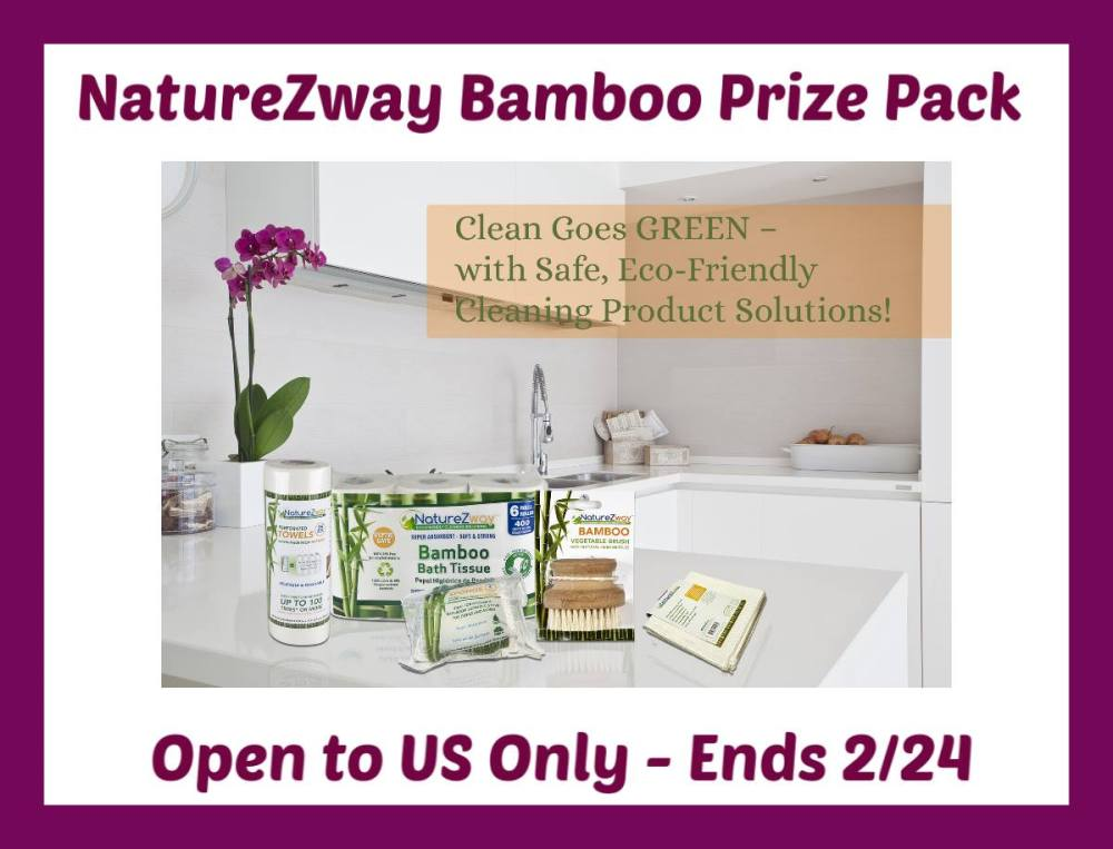 NatureZway Bamboo Prize Pack - Ends 2/24 Good Luck from Tom's Take On Things