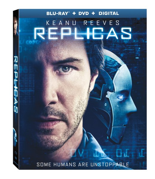 Keanu Reeves in Replicas is out now ~ Grab it today!