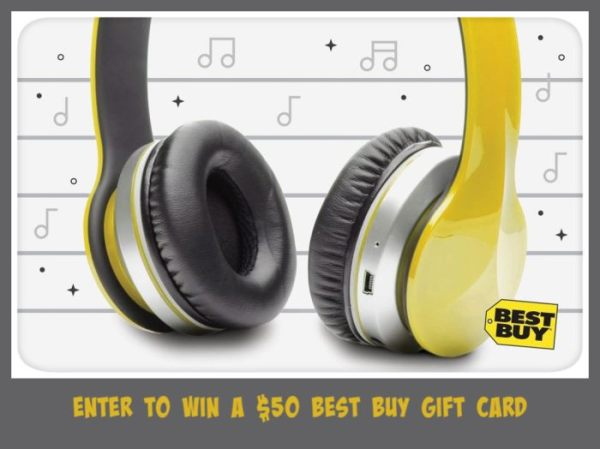 $50 Best Buy Gift Card Giveaway Ends 9/3