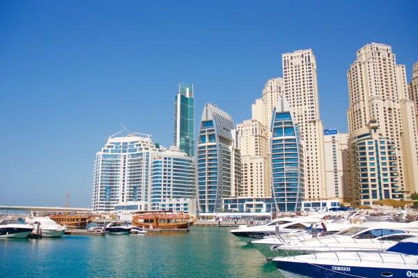 Dubai Marina - Viaggio a Dubai