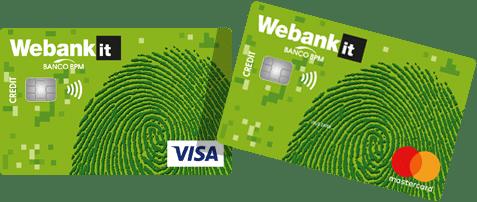 Come attivare Cartimpronta su Webank