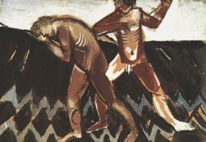 Cain and Abel - Marc Chagall