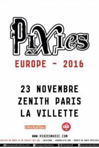 Pixies @ Le Zénith Paris Concert