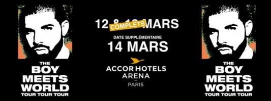 Drake @ AccorHotel Arena Bercy Concerto