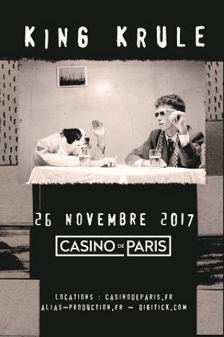 King Krule @ Casino de Paris Concerto