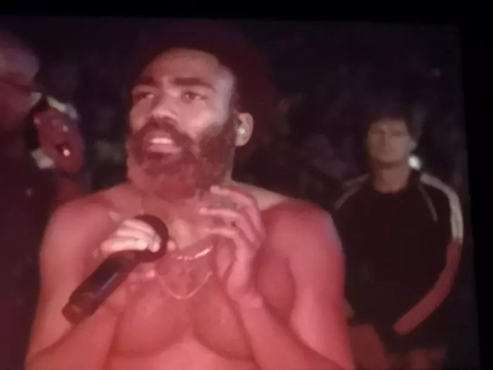 Concerto Childish Gambino