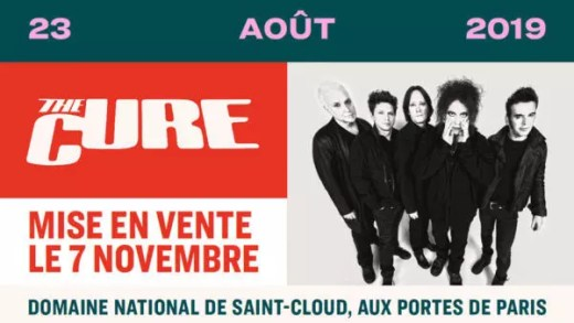Cure al Rock en Seine 2019