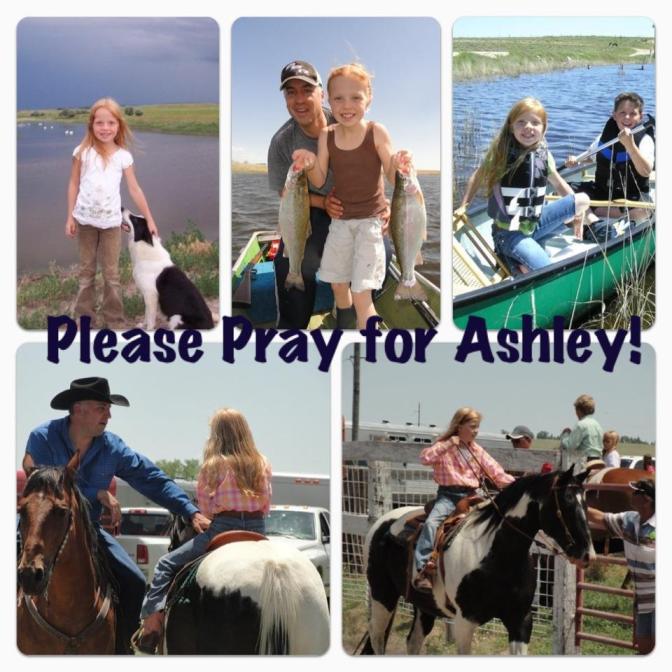 Pray for Ashley, prayers, jesus, god, jeff tosh, tonya, wyoming, othello, washington, swimming, drown,