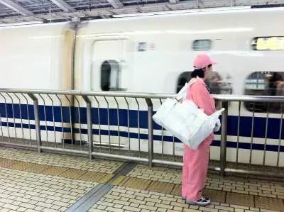 日本のいいところ-新幹線