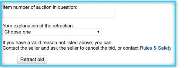 ebay 落札取り消し
