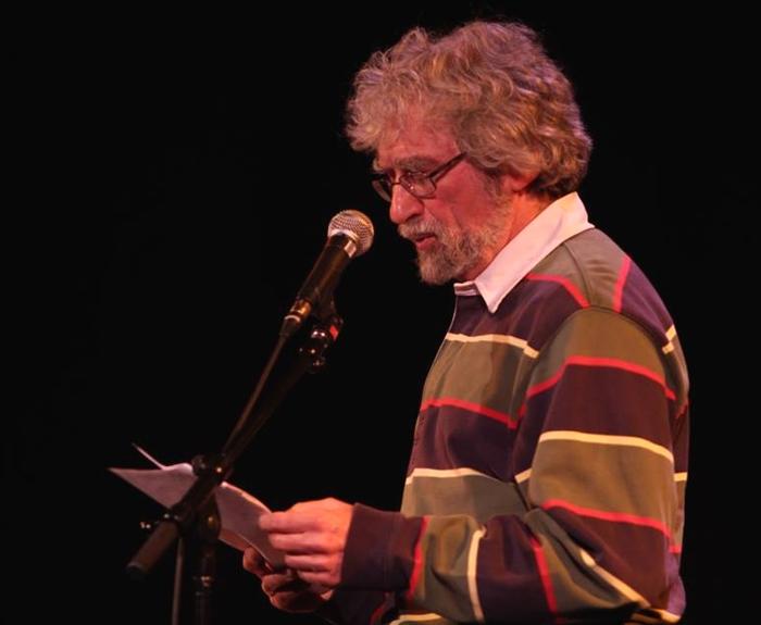Tom Wayman reading at the Calgary Spoken Word Festival