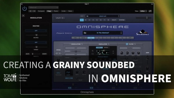 Learn How To Create a Soundbed in Omnisphere