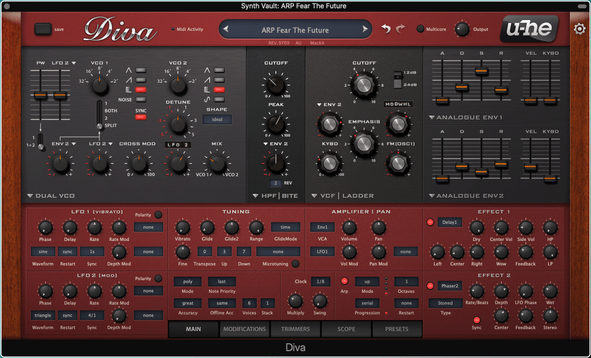 Synth Vault: Free U-he Presets