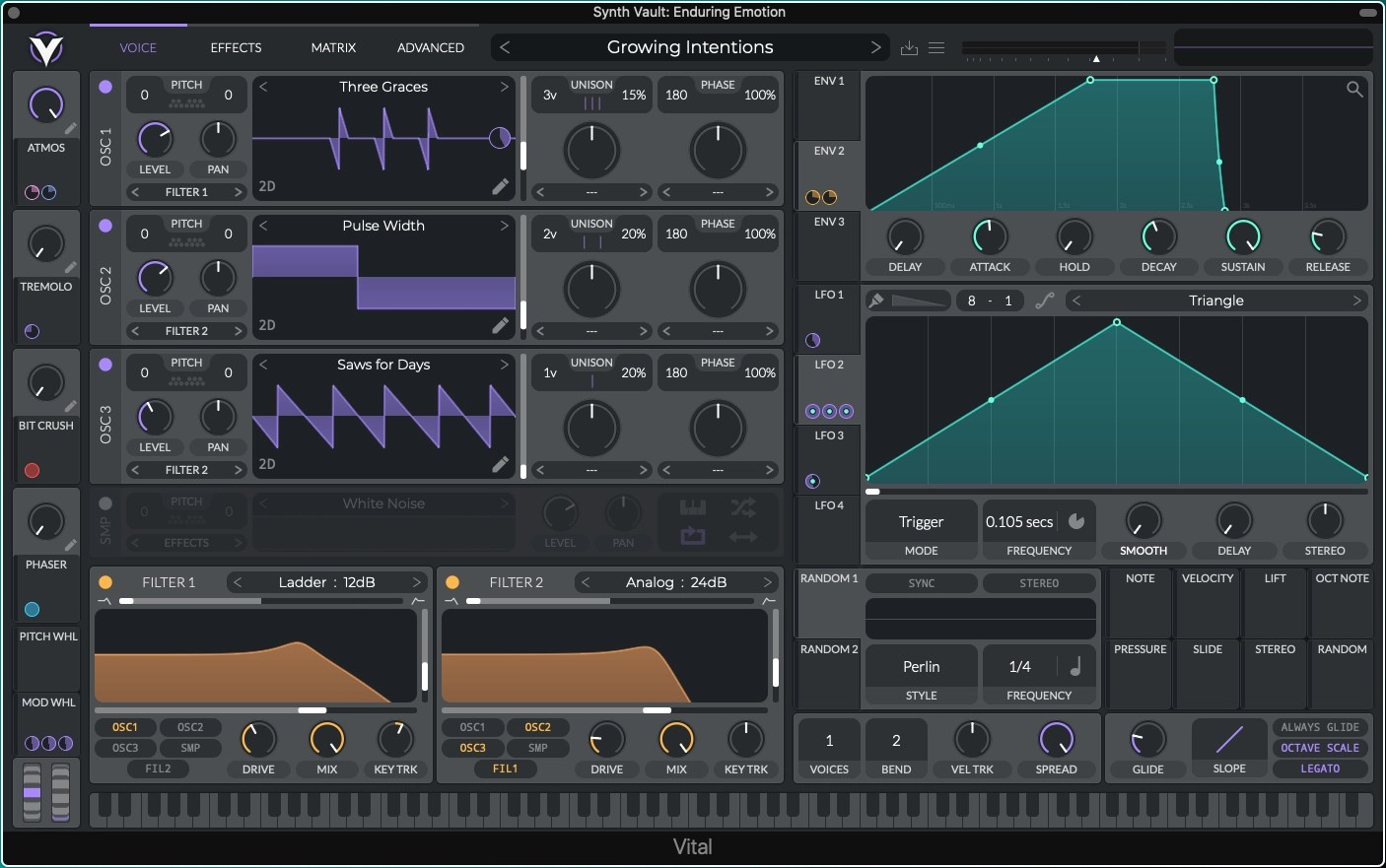 Synth Vault: Free Presets for Vital