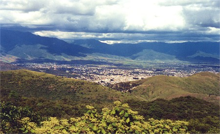 Oaxaca City from above