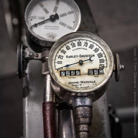 Harley rychloměr