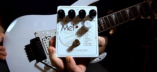 Meet The Pedal That Makes Your Guitar Sound Like An Orchestra