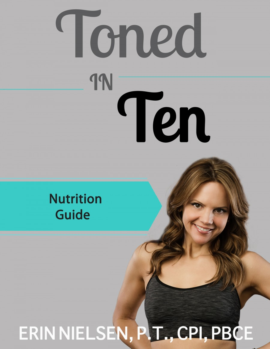 Toned In Ten  Image of tonedinten Nutrition Guide1 e1424198589100