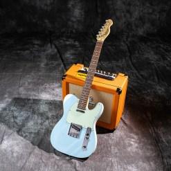Maya Guitar MTE-60 Sonic BLue