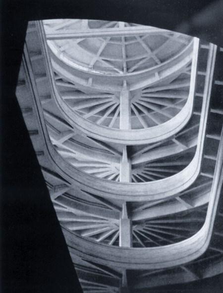 Stefano Bricarelli, una rampa elicoidale alla Fiat (1929)