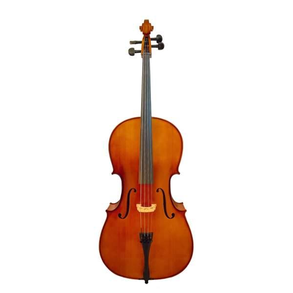 Produktbillede af cello med hvid baggrund