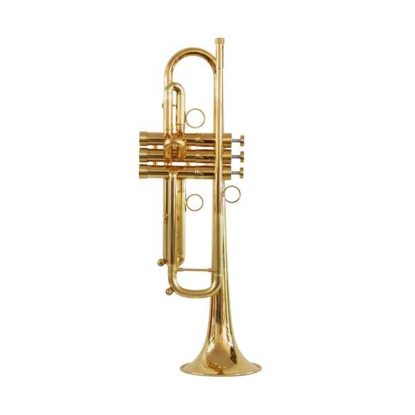 Produktbillede af trompet med messingfinish
