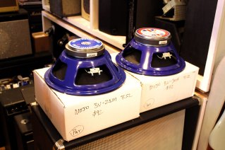 A pair of Mojotone British Vintage Series speakers