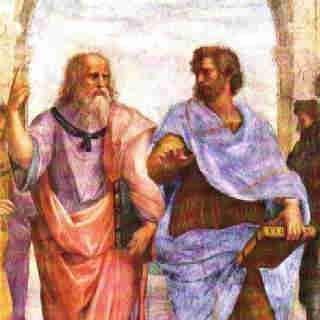 Platone(Dx) e Aristotele (sx)