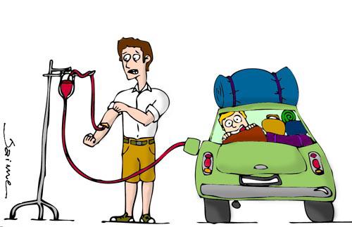 Cara Benzina, benzina cara