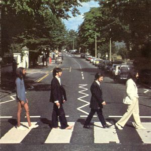 Abbey Road naked George Harrison