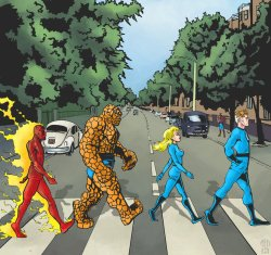 10072013: Abbey Road Fantastic Four