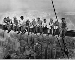 25072013: Foto pranzo sul grattacielo