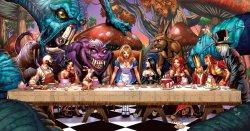 19072013: Ultima cena Alice nel paese delle meraviglie