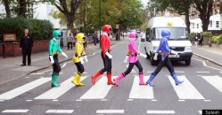 05022014: Abbey Road Power Rangers