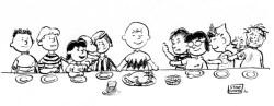 04042014: Ultima cena Peanuts
