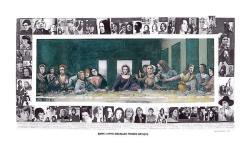 10102014: Ultima cena Mary Beth Edelson