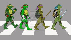 15042015: Abbey Road Teenage Mutant Ninja Turtles