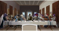23102015: Ultima cena Furry fandom