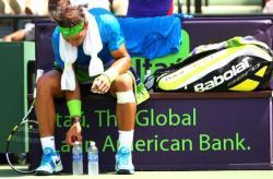 03112015: I tic dei giocatori di tennis 1: Le bottiglie di Nadal