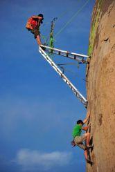 22022016: Lo sport pericoloso non è fare l'arrampicata...