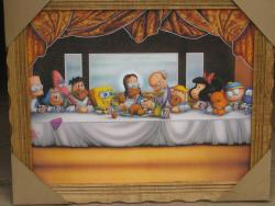 22042016: Ultima cena  Simpson- The Last Supper