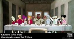 20052016: Ultima cena Futurama