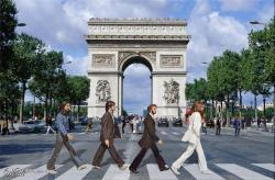15062016: Abbey Road Arco di Trionfo (Parigi)