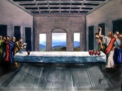17062016: Ultima cena The real last supper