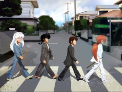 14092016: Abbey Road Anime Manga