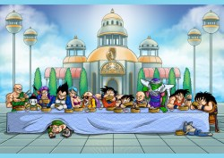02122016: Ultima cena parodia Dragon Ball