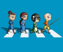 25012017: Abbey Road parody The Last Airbender