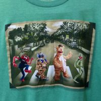 muppets-beatles-abbey-road-green-t-shirt-large-disney-kermit-fozzie-animal-gonzo-d2ea81cf2ba3a21220370f53e69953ed